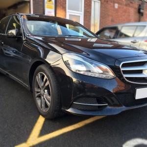 Mercedes E-Class front ( black )