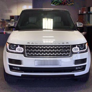 Range Rover Vogue front ( white )